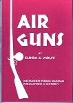Air Guns by Eldon G. Wolff Book