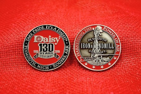 Daisy 130th Anniversary Challenge Coin