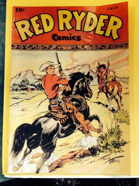 Red Ryder Comic Book 1947 reproduction