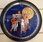 Father and Son Clock (Dark Blue)