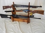 Table-top 3-Gun Rack