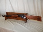 Single Gun Wood Rack