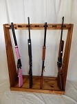 Standing 7-Gun Rifle Rack
