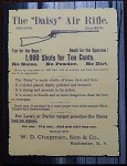 The Daisy Air Rifle/Wire Frame gun sign