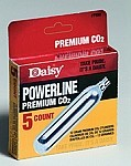 PowerLine CO2 Cylinders - 5 count