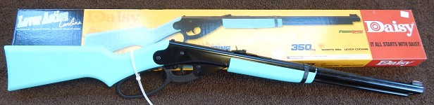 Model 1999DB Daisy Blue Loop Lever BB Gun