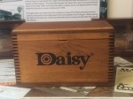 Large Wooden Ammo Box with Daisy Logo