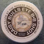 BB Tin with BBs 2020 80th Anniversary Daisy Red Ryder
